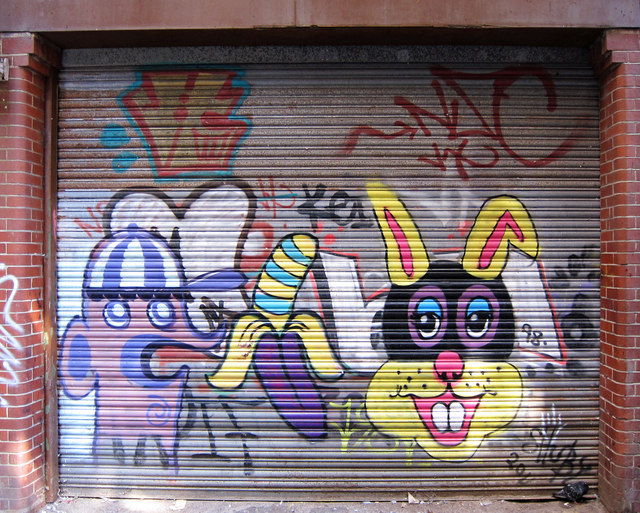Graffiti at Claremont alley