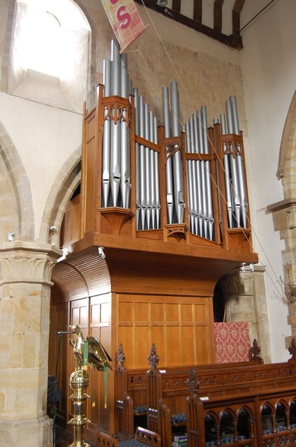 Organ in Battle Church