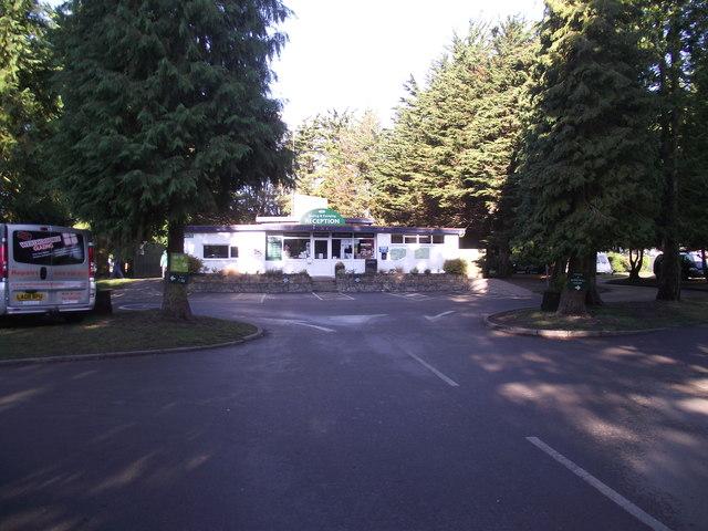 Sandford Park, Campsite reception