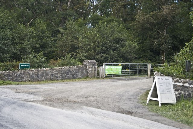Entrance to Whin Park Industrial Estate, Islay