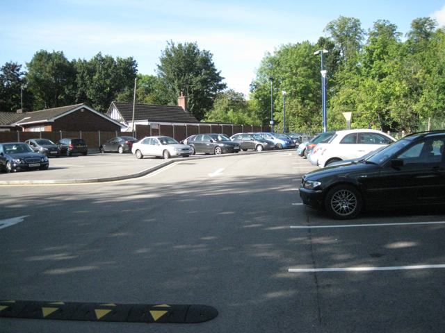Hampton-in-Arden station car park