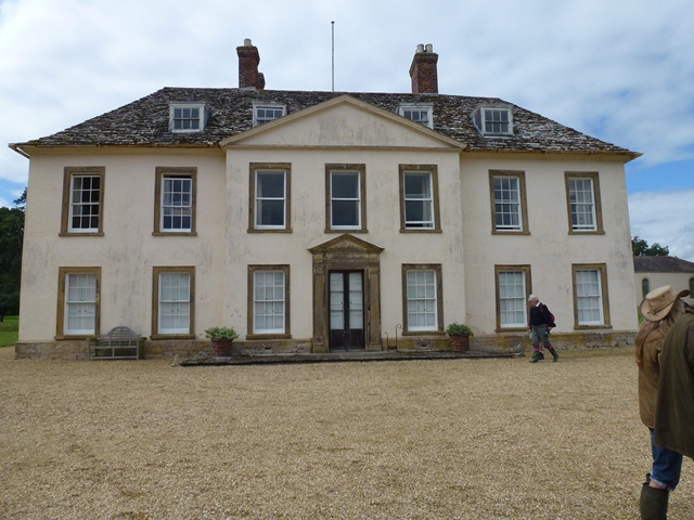 Stock Gaylard: East front of Stock House