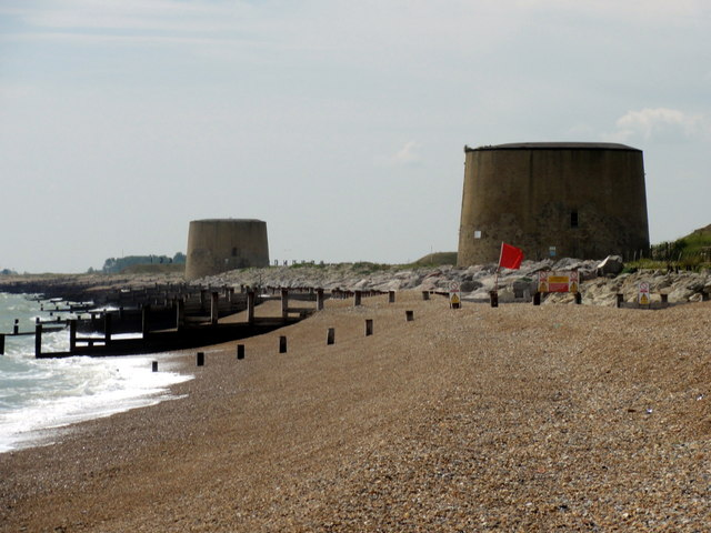 Hythe, Martello Towers No. 14 and No. 15