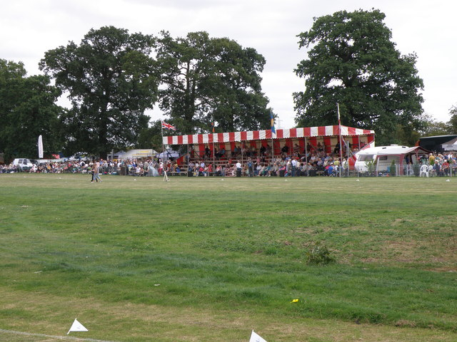 Grandstand at the Heckington Show
