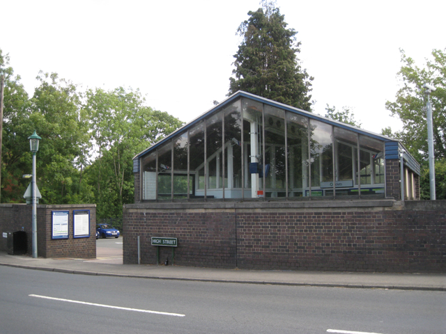 Hampton-in-Arden railway station, High Street