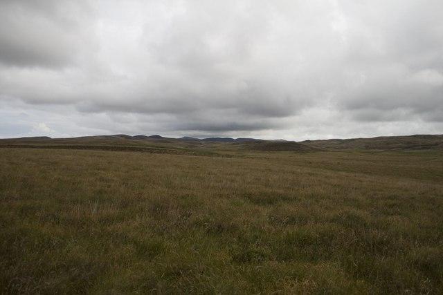 Moorland, Gleann Mòr, Islay