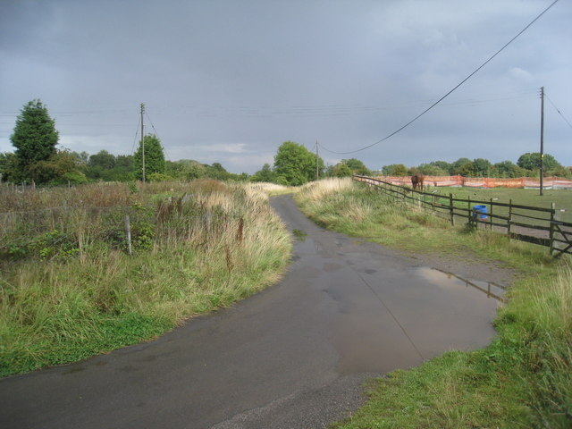 The Lane to East End Farm