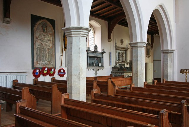 St Mary & St Margaret, Sprowston, Norwich - Interior