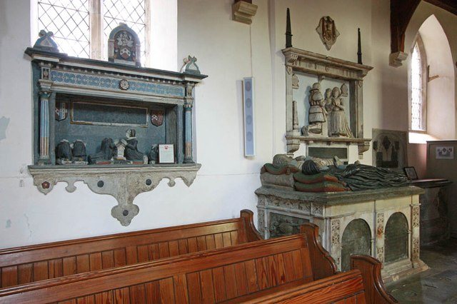 St Mary & St Margaret, Sprowston, Norwich - Wall monuments