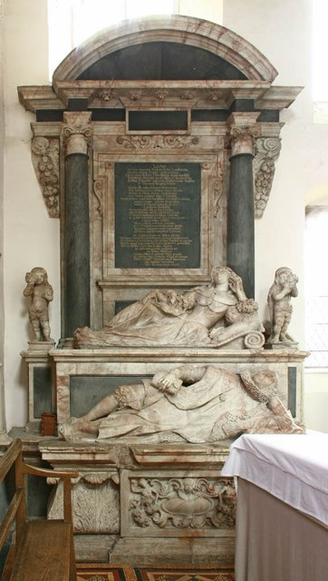 St Mary & St Margaret, Sprowston, Norwich - Monument