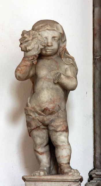 St Mary & St Margaret, Sprowston, Norwich - Monument detail