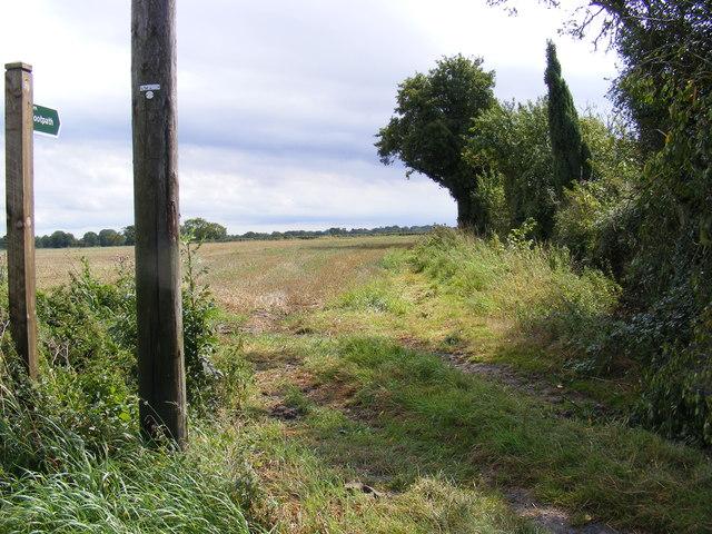 Footpath to New Road & Fingal Street