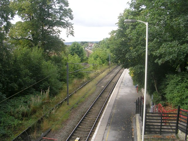 View from Bridge GUE2/8 - off Roundwood Road