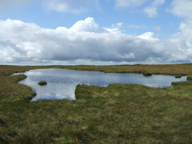 Lochan beneath Shalloch on Minnoch