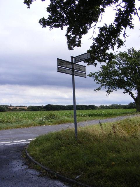 Roadsign on Fingal Street