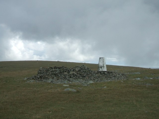 Summit of Shalloch on Minnoch