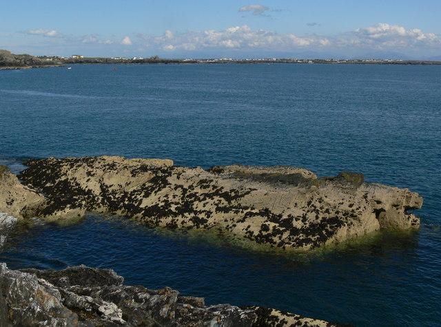Low tide at Graig Lwyd