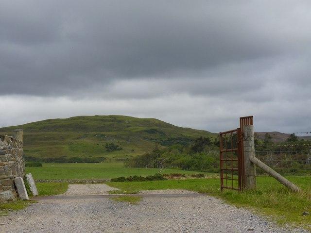 Entrance to Carrabus Farms, Islay