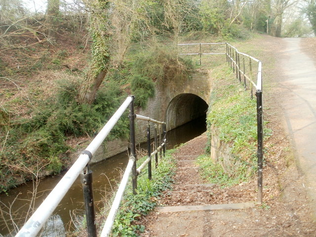 Steps down to Cwmbran canal tunnel