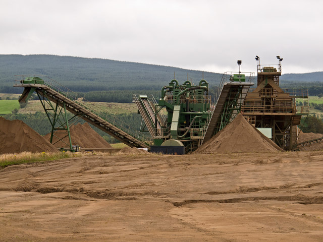 Snabe sand and gravel quarry