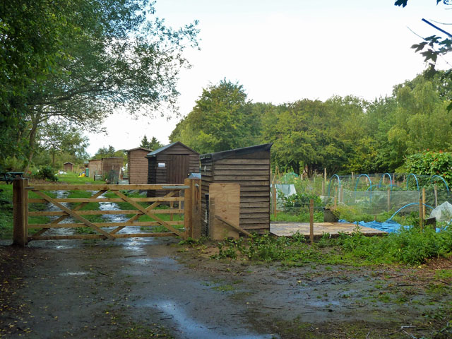 Allotments, Brasted