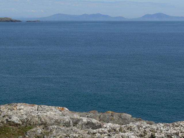 View towards the Lleyn Peninsula