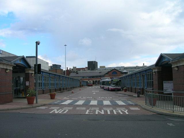 Sheffield Bus Station