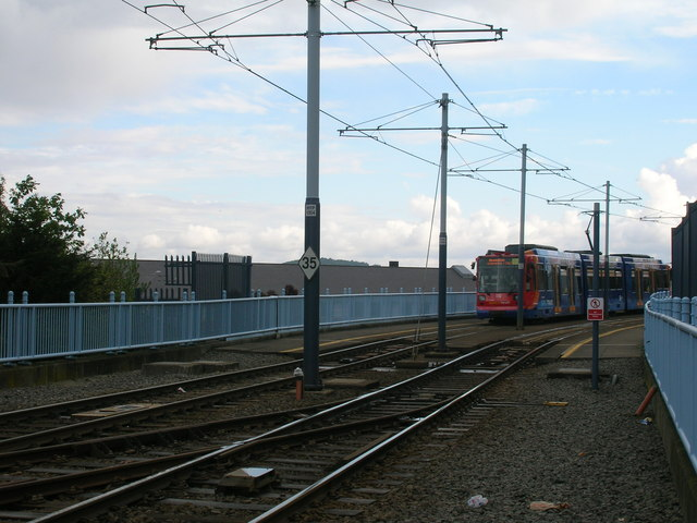 Tram lines, Sheffield