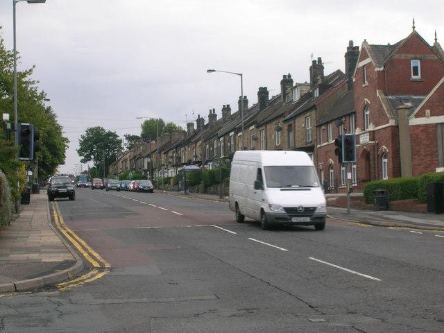 City Road (A6135) Sheffield