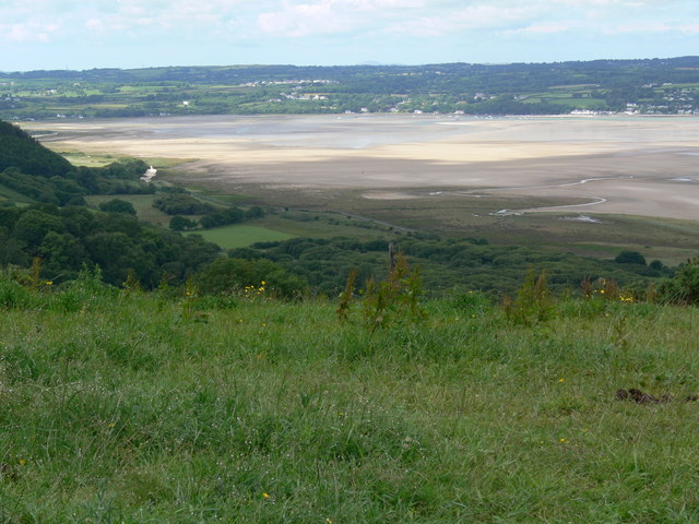 The expanse of Red Wharf Bay