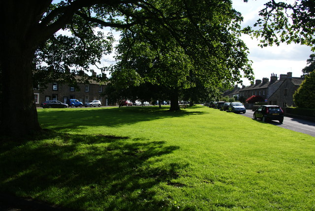 The green by South Street, Gargrave