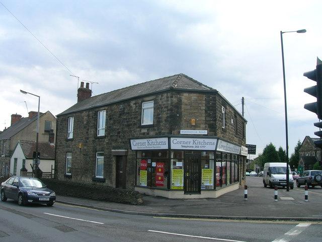 Kitchen retailer on Woodhouse Road, Sheffield