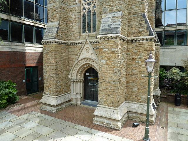 Entrance to Horsham Volunteer Centre