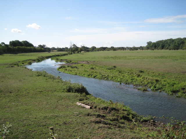 River Blythe south of Patrick Bridge