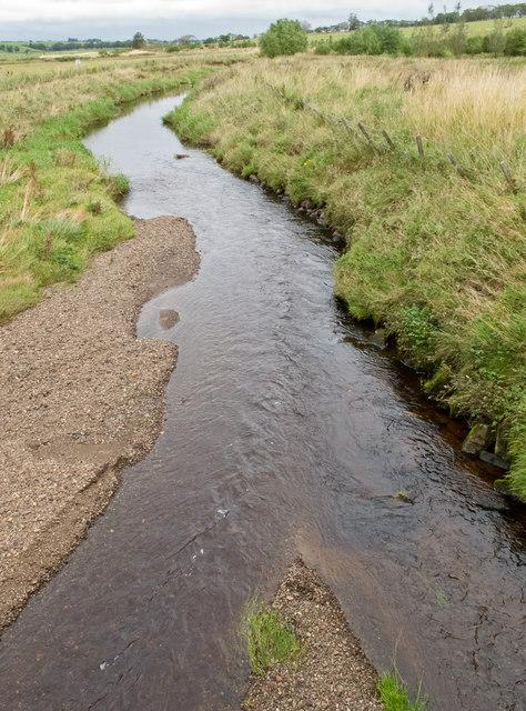 The Avon Water at Gilmourton