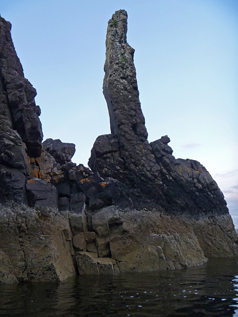 Sea stack at Harlosh