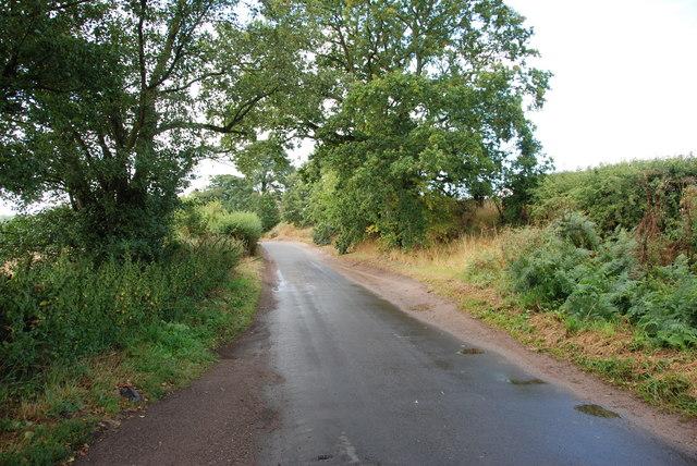 A wet Greensforge Lane