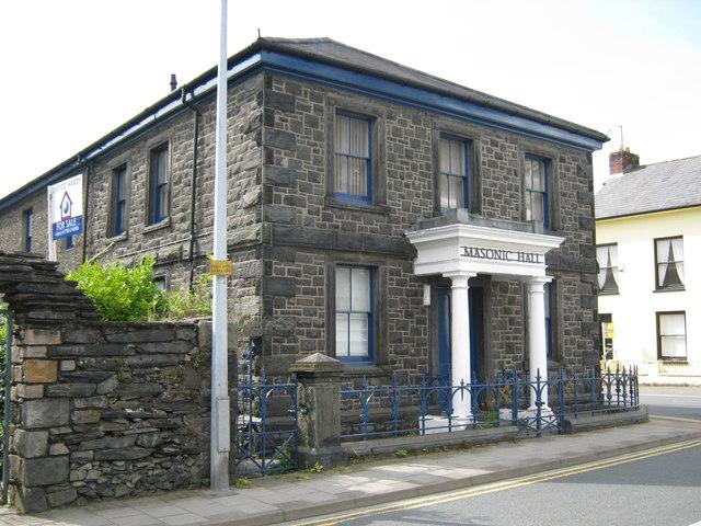 Masonic Hall, Porthmadog