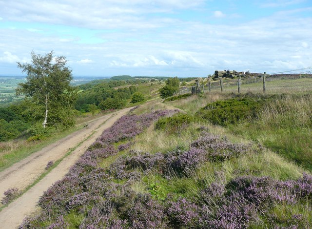 The path from Yorkgate Quarry to Surprise View, Otley