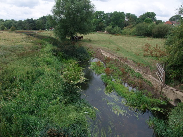 The River Soar from Enderby Bridge