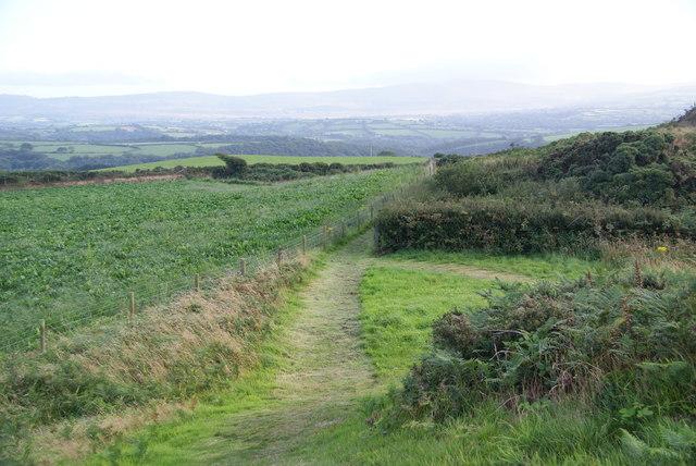 Path off Crugiau Cemmaes