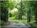 TQ4558 : Gates to Wood Farm by Robin Webster