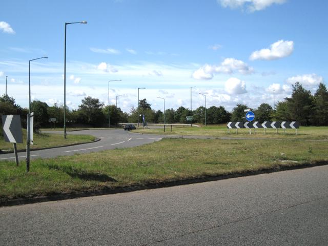 Hampton/Meriden island, A452