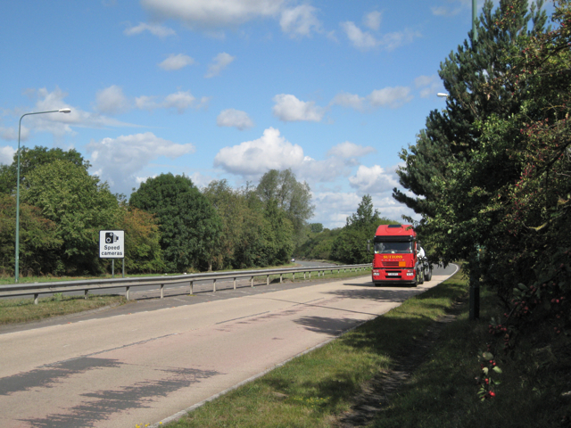 A452 north of Hampton/Meriden island