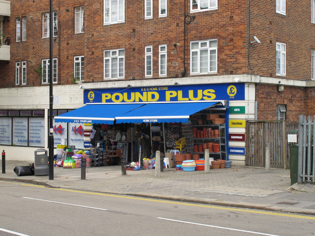Pound Plus shop on Horn Lane