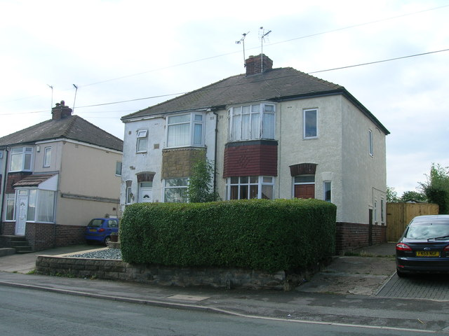 Houses on Stradbroke Road, Sheffield