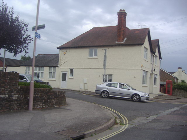 The junction of Whyke Road and Rumbolds Close