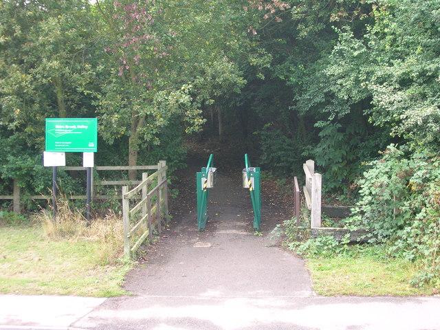 Bridleway off Beighton Road