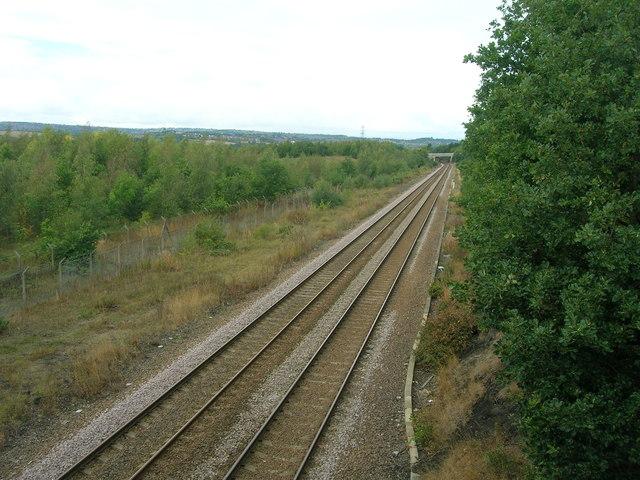 Railway towards Sheffield