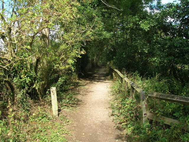 Footpath, Ulley Country Park